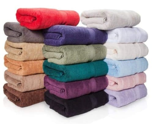 15. eLuxurySupply Premium Egyptian Cotton Bath Towels Set