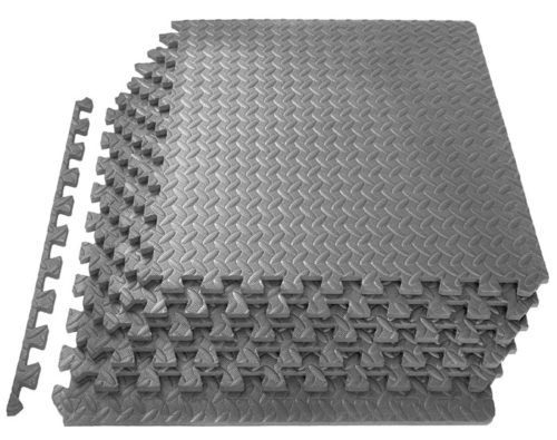 2. ProsourceFit Training Puzzles Mat with EVA Foam Interlock Tile For Personal Gym Floor Mats