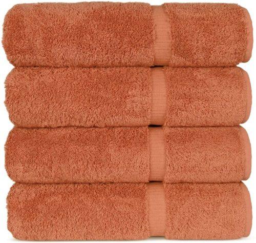 4. Chakir Turkish Linens Luxury Hotel & Spa Turkish Bath Towels Set