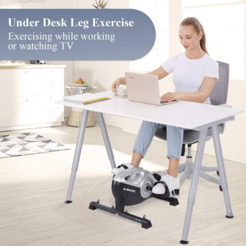 4. MaxKare Under Desk Cycle with LCD Display Best for Pedal Exerciser