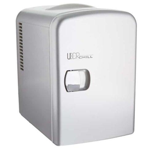 4. Uber Appliance Thermoelectric Portable Mini Fridge - Mini Cooler Fridge
