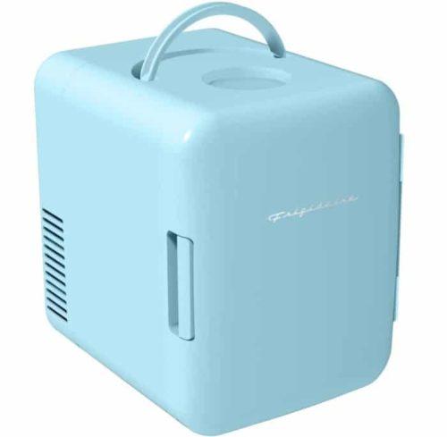 6. Frigidaire Retro Mini Fridge with 100 Percent Freon Free - Mini Cooler for Home