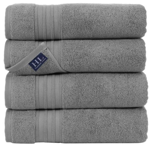 7. Hammam Linen Cool Soft Bath Towels with 100% Cotton for Daily Use