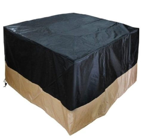 7. Stanbroil Patio Square Fire Pit Cover with Outdoor