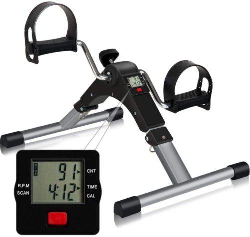 7. Tabeke Portable Exercise Peddler for Arm and Leg Workout - Best Desk Bike