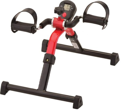 9. NOVA Pedal Exerciser with Easy Foldable and Display Tracker