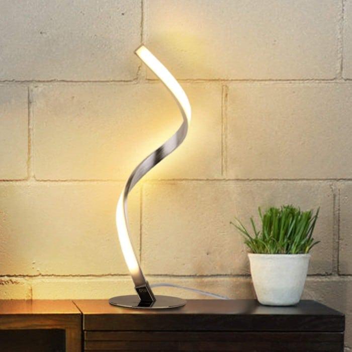 Albrillo Spiral Touch Lamp