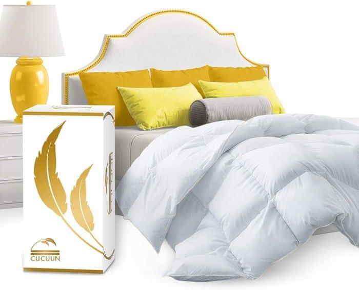 CUCUUN Real Luxury Down Comforter