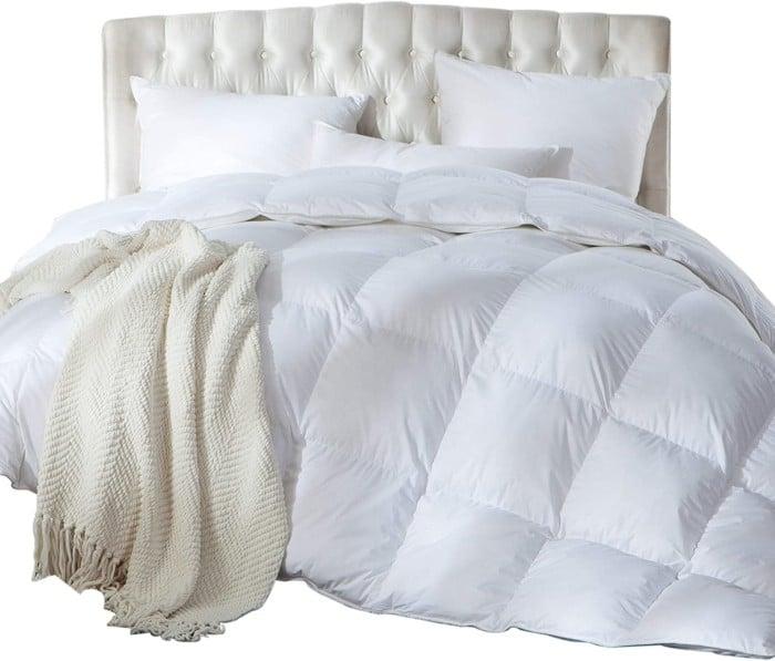 California King Size Siberian Goose Down Comforter
