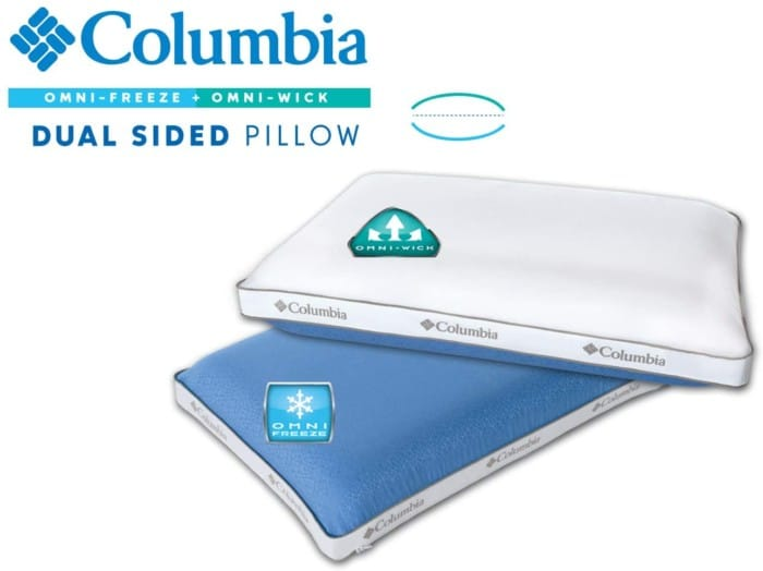 Columbia High-Performance Extreme Cooling Memory Foam Pillow