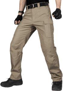 FREE SOLDIER Men's Water Resistant Pants