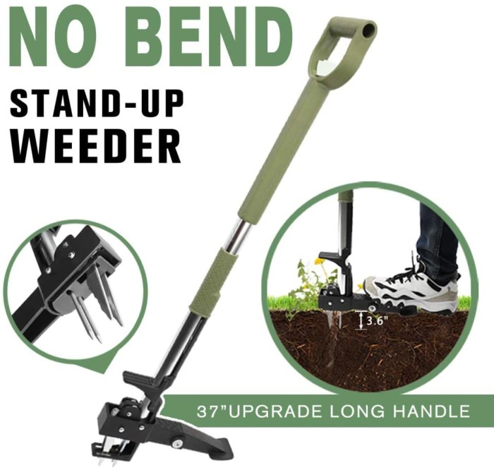 No Bend Stand-Up Weeder