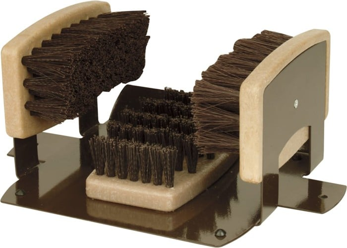 Personal Security Boot Brush