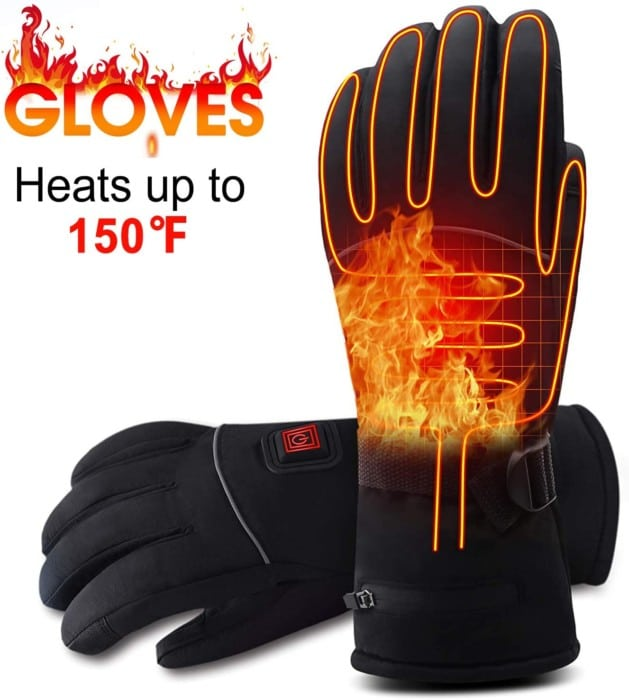 Rabbitroom Electric-Battery Heated Gloves