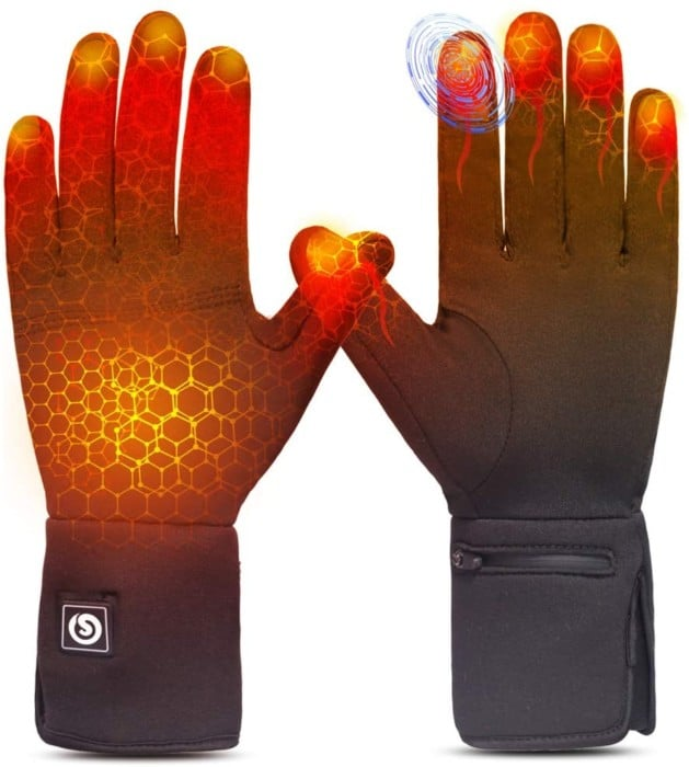 Rechargeable Electric Battery Thin Gloves