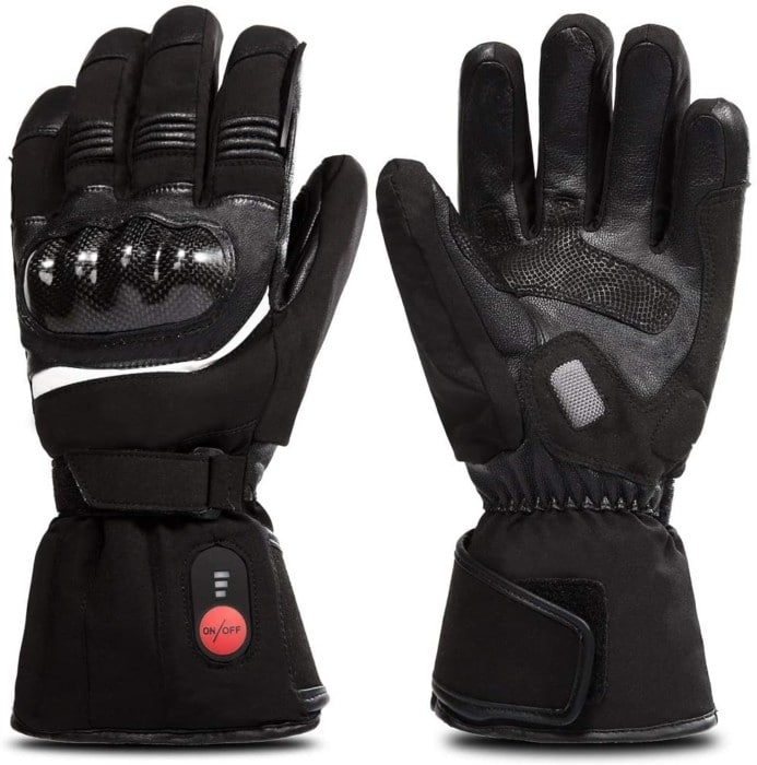 SAVIOR HEAT Motorcycle Gloves