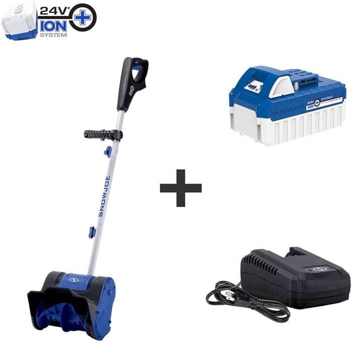 SS10 24-Volt Ion Cordless Snow Shovel Kit