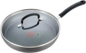 T-fal nonstick pan with lid