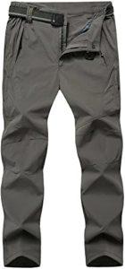 TBMPOY Men's Waterproof Hiking Mountain Pants