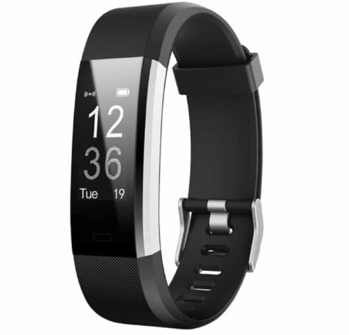 LETSCOM Smart Band Waterproof Activity Fitness Tracker with Step Counter and Heart Rate Monitor