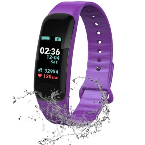 FJunHappy Waterproof Smart Band Activity Fitness Tracker with Blood Pressure and Sleep Tracker, o2 Fitness for Men and Women