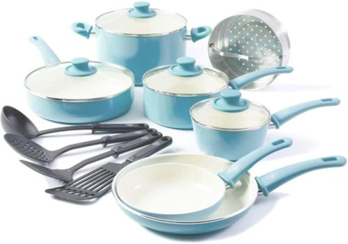 11. GreenLife Ceramic Induction Cookware Set