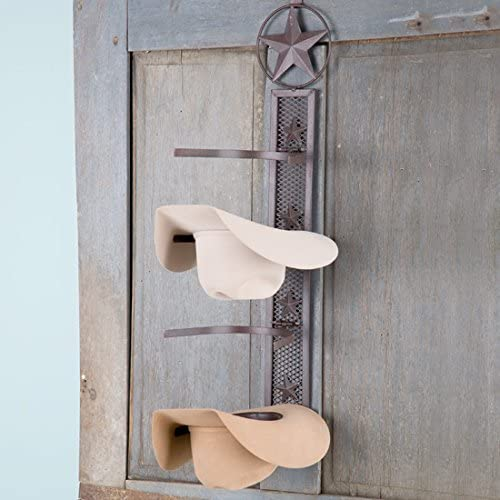 12. DeLeon Metal Fold Up Hat Rack