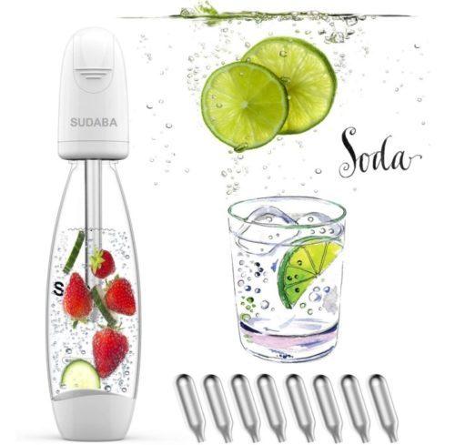 Homeow Portable Soda Maker - Mini Soda Maker Machines Stream