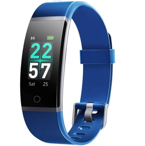 Letsfit Waterproof Smart Band Activity Fitness Tracker Watch with Step Counter and Heart Rate for Men and Women