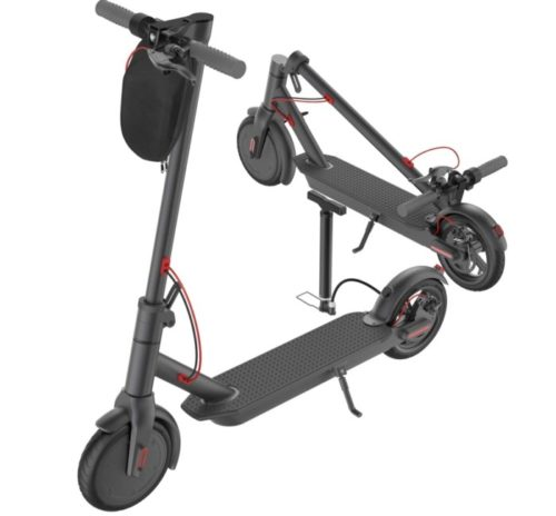 N2 Folding Electric Scooters for Heavy Adults with Solid Tires and Cruise Control - High Speed Portable 2 Wheele Electric Scooters