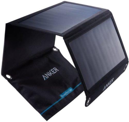 Anker Foldable LIT Solar Power Bank Panel with 2 USB Port