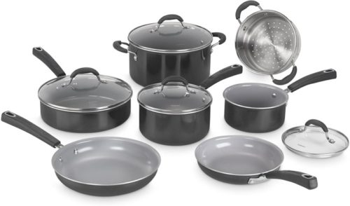 3. Cuisinart Advantage Ceramica Cookware Set