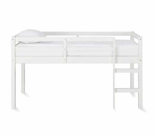 Dorel Living Milton Junior White Twin Bed