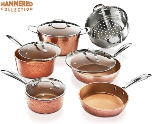 4. Gotham Steel Pots and Pans Set
