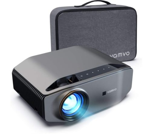 Vamvo Full HD Video Ceiling Projector with Max Display