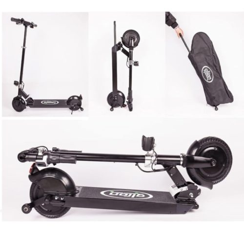 Glion Dolly Folding Electric Scooter for Heavy Adults with UL Certified - Top Rated Electric Scooter