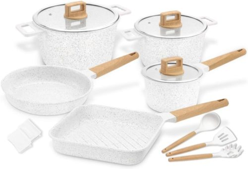 7. COOKLOVER Ceramic Cookware Set