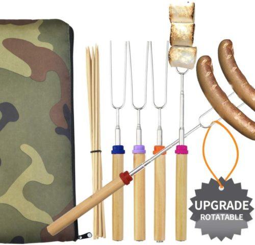 Wup Extendable Campfire Marshmallow Roasting Sticks - Smores Sticks