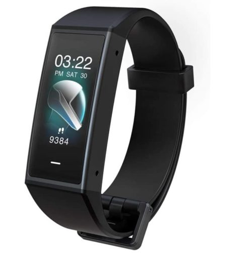 Wyze High Res Color Touchscreen Smart Band Activity Fitness Tracker with Alexa and Water Resistant