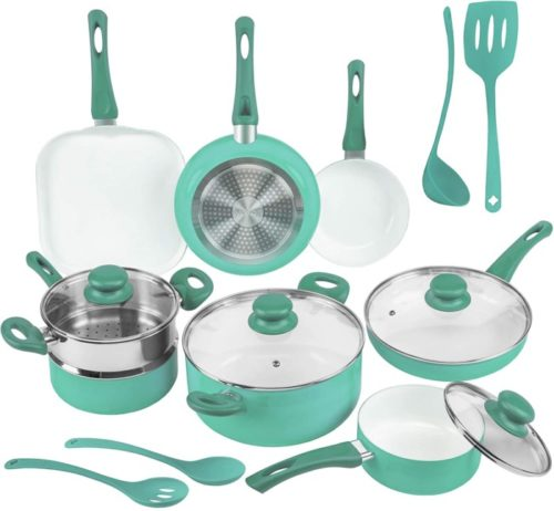 8. Ivation Ceramic Cookware