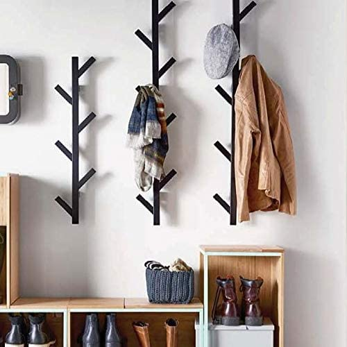 9. PremiumRacks Wall Mounted Modern Hat Rack - Coat Rack