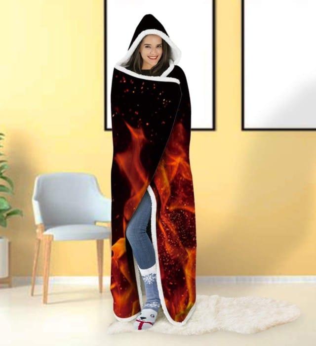 ALISISTER Hooded Blanket