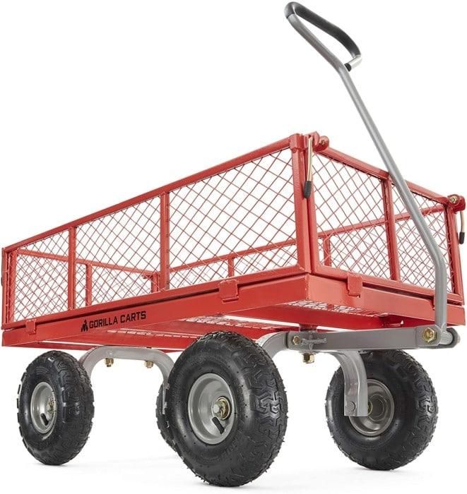 Gorilla Steel Utility Cart