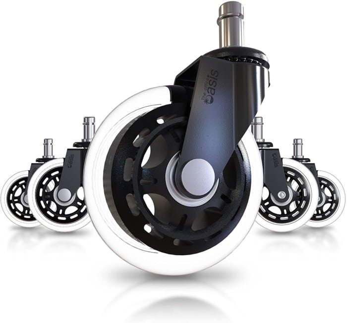 The Office Oasis Office Chair Caster Wheels