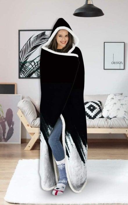 uideazone Hooded Blanket