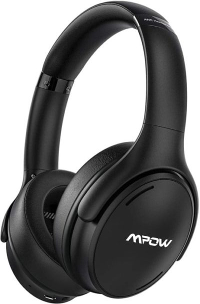 1. Mpow Active Noise Cancelling Headphones