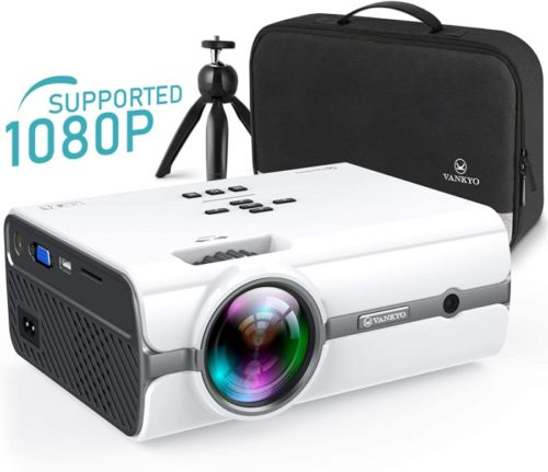 VANKYO Leisure Portable Best Projector Under 200 for Outdoor and Home Activities