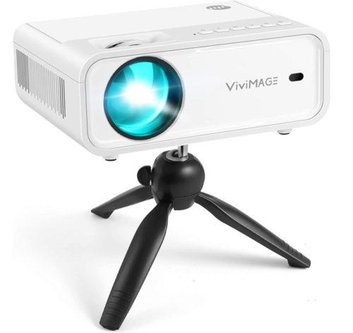 VIVIMAGE SmartPhone Synchronize Mini WiFi Projector