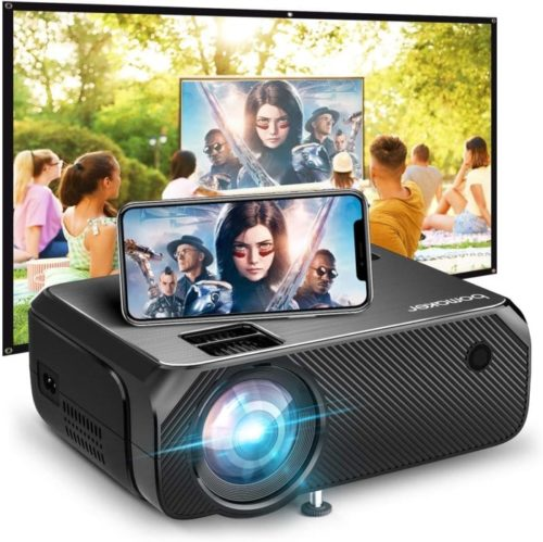Bomaker Ultra-Portable Wi-Fi Best Projector Under 200 for Outdoor Movies