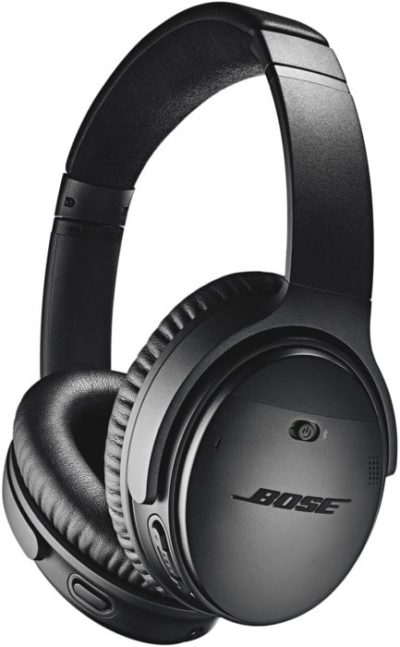 2. Bose QuietComfort Wireless Bluetooth Headphones